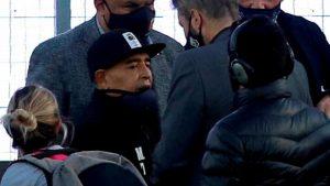 Maradona hospitalizado