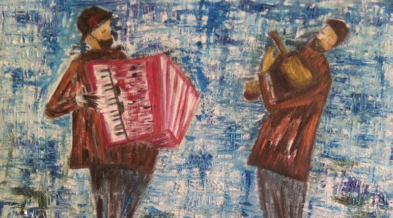 Musicos en la ciudad vieja