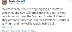 tweet de trump contra mexicanos