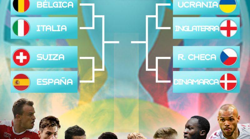 Definidos los cuartos de final de la Eurocopa.