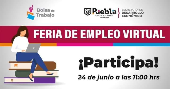 ¿Buscas empleo? Ayuntamiento de Puebla organiza feria virtual este 24 de junio