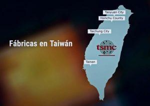 Taiwan y TSMC repartido ahí
