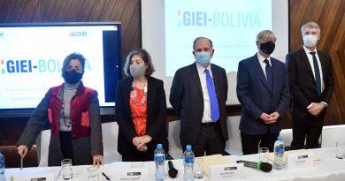 Gobierno Boliviano recibe informe del GIEI sobre golpe de Estado en 2019