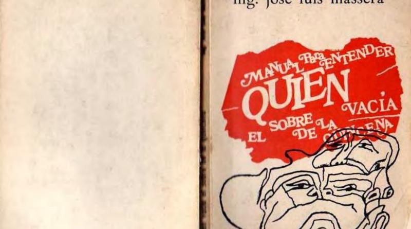 Manual para entender quien vacía el sobre de la quincena, José Luis Massera || LIBRO PDF