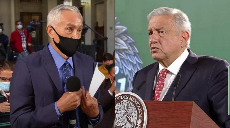Jorge Ramos y AMLO debaten sobre seguridad y violencia en México durante conferencia matutina