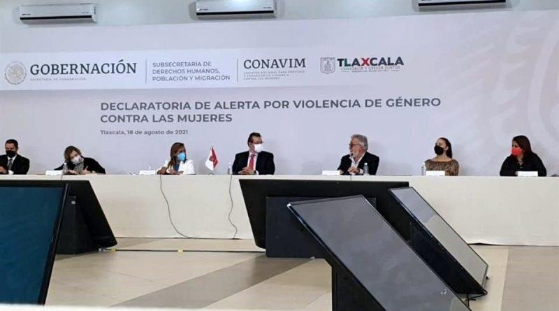 Se declara en Tlaxcala Alerta por Violencia de Género contra las Mujeres