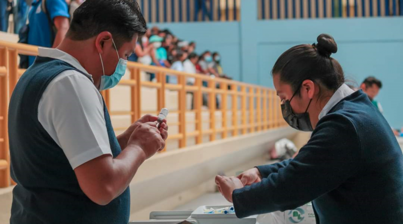 El 17 de agosto vacunarán a jóvenes de 18 a 24 años en el Municipio de Oaxaca de Juárez