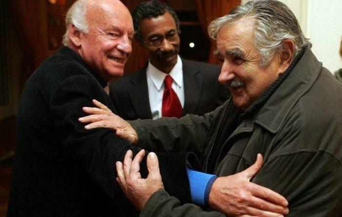 Descripción de Eduardo Galeano, por Pepe Mujica