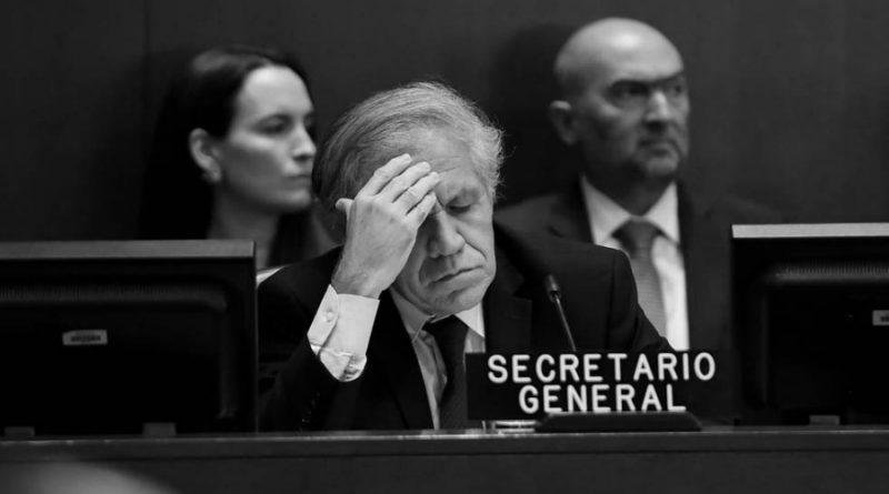 Bolivia: Si Almagro no renuncia a la OEA resultará siendo echado