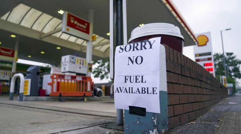 No hay gasolina en Reino Unido