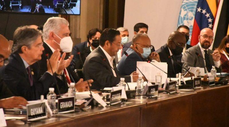 Fundamental discutir transformación de la OEA   Intervención de Luis Arce Presidente de Bolivia en cumbre CELAC