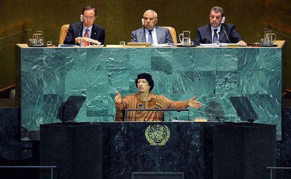 ¿Por qué la ONU libra una guerra contra el mundo árabe?    Opinión de Muamar Gadafi en 2011