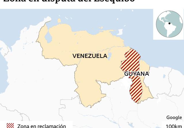 El Esequibo: conflicto territorial entre Venezuela y Guyana consecuencia del imperialismo británico en el continente