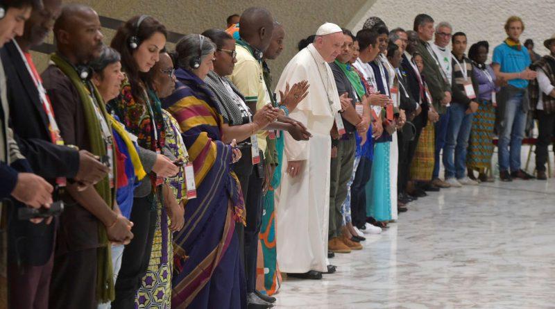 Este 16 de octubre, Papa Francisco participará en IV Encuentro Mundial de Movimientos Populares